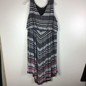 BOGO FREE ☀️Avenue colorful asymmetric dress